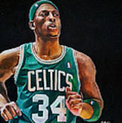 Paul Pierce - The Truth Poster by Michael  Pattison
