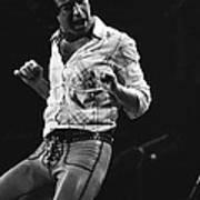 Paul Rocks Steady In Spokane In 1977 Poster