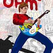 Paul Weller Wham Poster