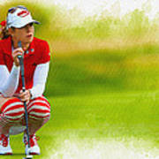 Paula Creamer - The Ricoh Women British Open Poster