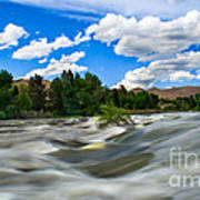 Payette River Poster by Robert Bales