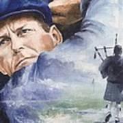 Payne Stewart Poster by Christiaan Bekker