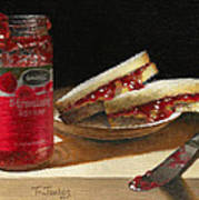 Pb And J 2 Poster by Timothy Jones