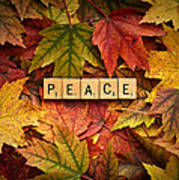 Peace-autumn Poster