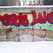 Peace Love Poster