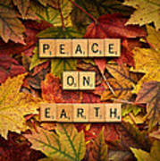 Peace On Earth-autumn Poster