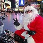 Peace Santa Poster