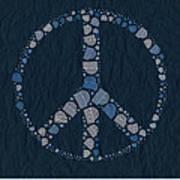 Peace Symbol Design - Bld01t01   Poster
