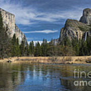 Peaceful Afternoon In Yosemite Poster