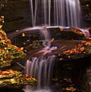 Peaceful Little Falls Poster