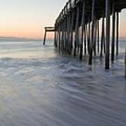Peaceful Ocean Sunrise Poster