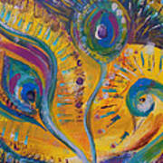 Peacock Dreams Poster