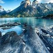 Peaks In Patagonia Poster
