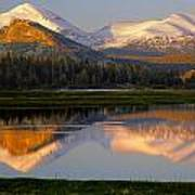 6m6530-a-peaks Reflected Touolumne Meadows  Poster
