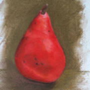 Pear Study 2 Poster