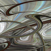 Pearl Swirl Poster