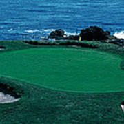 Pebble Beach Golf Course 8th Green Poster