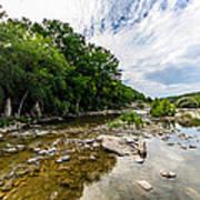 Pedernales River - Downstream Poster