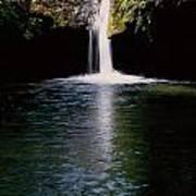 Pedernales Twin Falls-vpan Poster