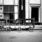 Pedicab Nyc Poster