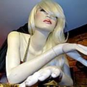 Peekaboo Blonde Poster