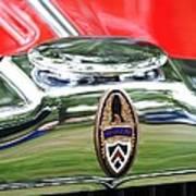 Peerless Radiator Emblem Poster