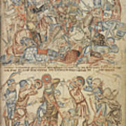 Peers And Commoners Fighting Poster