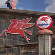 Pegasus And Mobilgas Poster