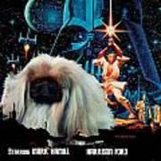 Pekingese Art - Star Wars Movie Poster Poster