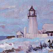 Pemaquid New Years Poster