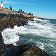 Pemaquid Point Lighthouse 1 Poster