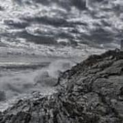 Pemaquid Seas Poster
