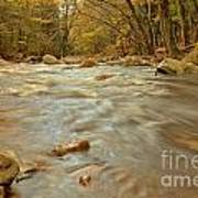 Pemigewasset River Rushing By Poster
