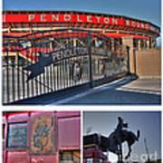 Pendleton Round-up Poster by David Bearden