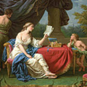 Penelope Reading A Letter From Odysseus Poster