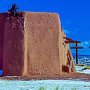 Penitente Morada Christian Church At Abiquiu New Mexico Poster