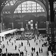 Penn Station Nyc 1957 Poster