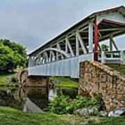 Pennsylvania Covered Bridge Poster