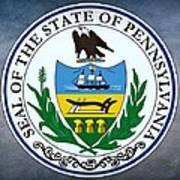 Pennsylvania State Seal Poster