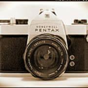 Pentax Spotmatic IIa Camera Poster by Mike McGlothlen