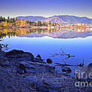 Penticton Reflections Poster