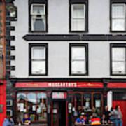People At A Restaurant, Mccarthys Bar Poster