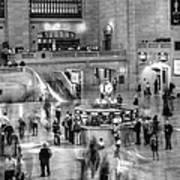 People At The Grand Central Station Poster