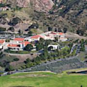 Pepperdine University On A Hill Poster