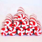 Peppermint Twist - Candy Canes Poster