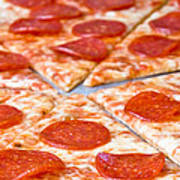 Pepperoni Pizza Poster