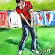 Ideal Gift For Golfing Husband Poster