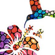 Perfect Harmony - Nature's Sharing Art Poster
