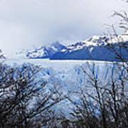 Perito Moreno Glacial Landscape Poster