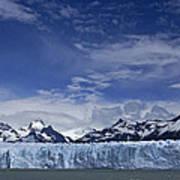 Perito Moreno Glacier And The Andes Poster